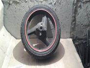 колесо заднее, шина Metzeler Lasertec 130/70-17, 3806  Honda  CB400