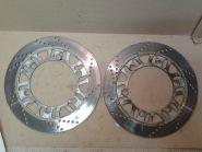передние тормозные диски (комплект, левый и правый)  Kawasaki  GPZ400