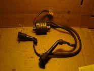 катушка зажигания 1 и 4 цилиндров с проводами и колпачками  Yamaha  FZR400