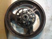 колесо заднее (колесный диск), тормозной диск, демпфер, звезда  Honda  CB400