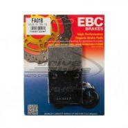 EBC Тормозные колодки FA018  Для мотоциклов BMW задние