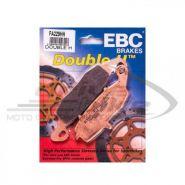 EBC Тормозные колодки FA229HH DOUBLE H Sintered (Suzuki, Kawasaki) передние